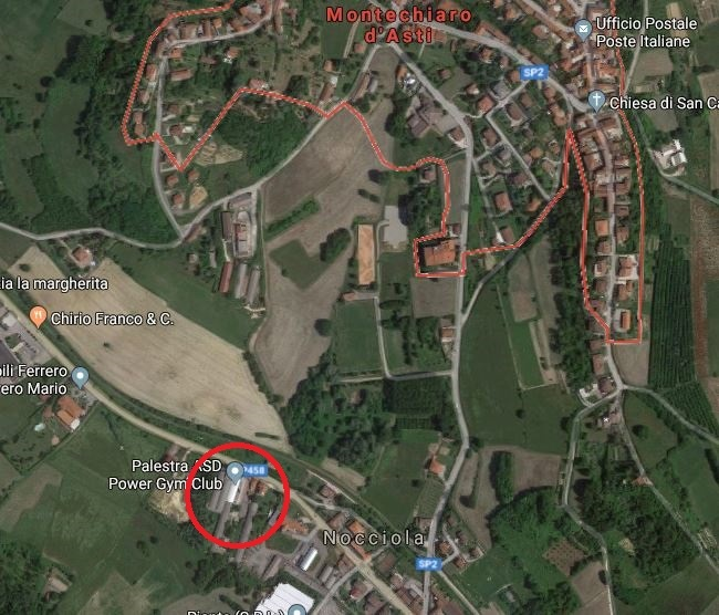 Capannone Industriale in Vendita Montechiaro d'Asti